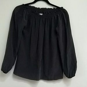Chaser silk top